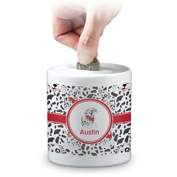 Dalmation Coin Bank (Personalized)