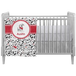 Dalmation Crib Comforter / Quilt (Personalized)