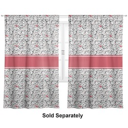 "Dalmation Curtains - 20""x84"" Panels - Lined (2 Panels Per Set) (Personalized)"