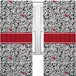 Dalmation Curtains (2 Panels Per Set) (Personalized)