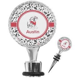 Dalmation Wine Bottle Stopper (Personalized)