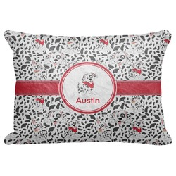 "Dalmation Decorative Baby Pillowcase - 16""x12"" (Personalized)"
