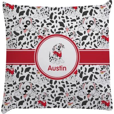 Dalmation Decorative Pillow Case (Personalized)