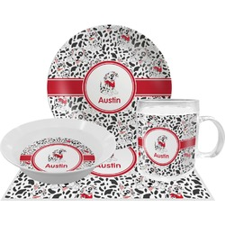 Dalmation Dinner Set - 4 Pc (Personalized)