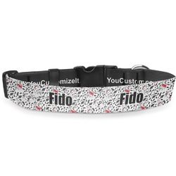 Dalmation Deluxe Dog Collar (Personalized)