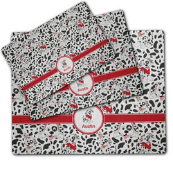 Dalmation Dog Food Mat w/ Name or Text