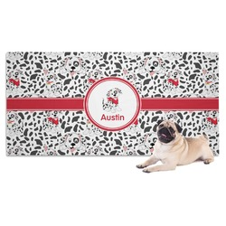 Dalmation Dog Towel (Personalized)