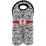 Dalmation Wine Tote Bag (2 Bottles) (Personalized)