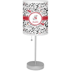 "Dalmation 7"" Drum Lamp with Shade (Personalized)"