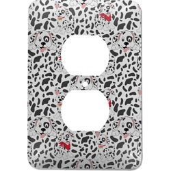 Dalmation Electric Outlet Plate (Personalized)