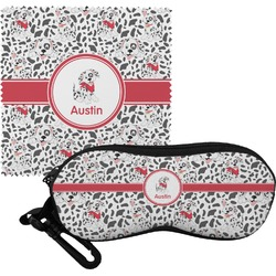 Dalmation Eyeglass Case & Cloth (Personalized)