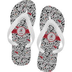 Dalmation Flip Flops (Personalized)