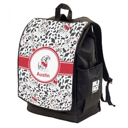 Dalmation Backpack w/ Front Flap  (Personalized)