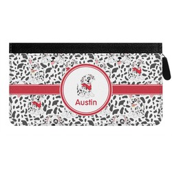 Dalmation Genuine Leather Ladies Zippered Wallet (Personalized)