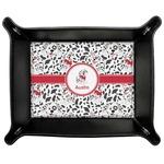 Dalmation Genuine Leather Valet Tray (Personalized)