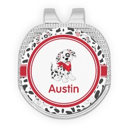 Dalmation Golf Ball Marker - Hat Clip