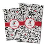 Dalmation Golf Towel - Full Print w/ Name or Text