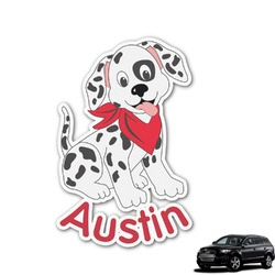 Dalmation Graphic Car Decal (Personalized)