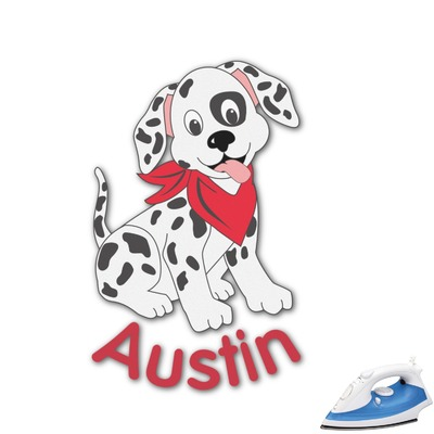 Dalmation Graphic Iron On Transfer (Personalized)