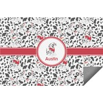 Dalmation Indoor / Outdoor Rug (Personalized)