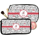 Dalmation Makeup / Cosmetic Bag (Personalized)