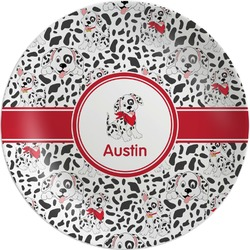 Dalmation Melamine Plate (Personalized)