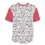 Dalmation Men's Crew T-Shirt (Personalized)