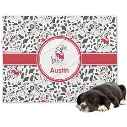 Dalmation Dog Blanket (Personalized)