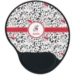 Dalmation Mouse Pad with Wrist Support