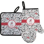 Dalmation Oven Mitt & Pot Holder (Personalized)