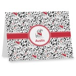 Dalmation Notecards (Personalized)