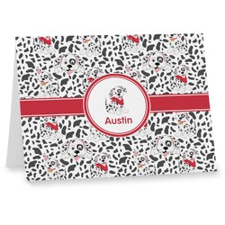 Dalmation Note cards (Personalized)