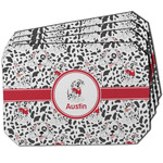 Dalmation Dining Table Mat - Octagon w/ Name or Text