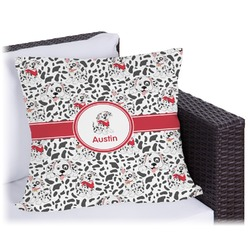 Dalmation Outdoor Pillow (Personalized)