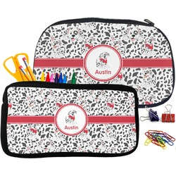 Dalmation Pencil / School Supplies Bag (Personalized)