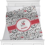 Dalmation Minky Blanket (Personalized)