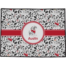 "Dalmation Door Mat - 60""x36"" (Personalized)"