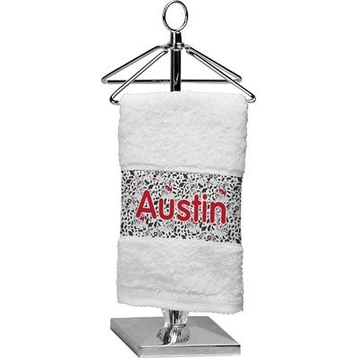 Dalmation Cotton Finger Tip Towel (Personalized)