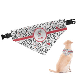 Dalmation Dog Bandana - Large (Personalized)