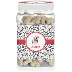Dalmation Pet Treat Jar (Personalized)