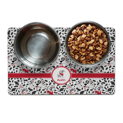 Dalmation Dog Food Mat (Personalized)