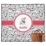 Dalmation Outdoor Picnic Blanket (Personalized)