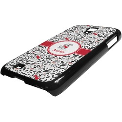 Dalmation Plastic Samsung Galaxy 4 Phone Case (Personalized)