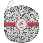 Dalmation Round Coin Purse (Personalized)