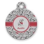 Dalmation Round Pet Tag (Personalized)