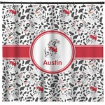 Dalmation Shower Curtain (Personalized)