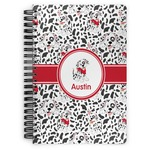 Dalmation Spiral Bound Notebook (Personalized)