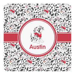 Dalmation Square Decal (Personalized)