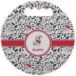 Dalmation Stadium Cushion (Round) (Personalized)