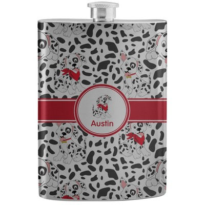 Dalmation Stainless Steel Flask (Personalized)